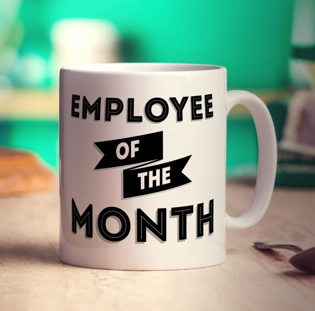 Image: Brian is our August Employee of the Month!