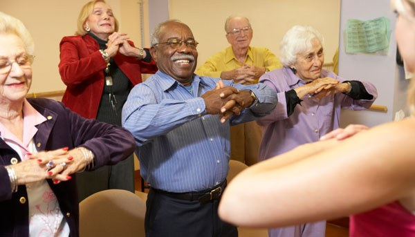 Image: Exercises to help seniors maintain their balance